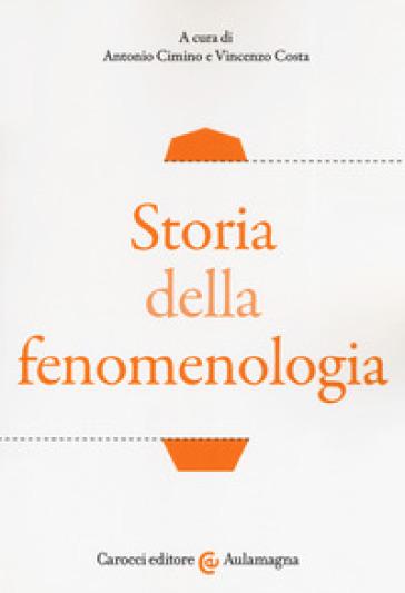 Storia della fenomenologia - A. Cimino | Thecosgala.com