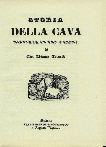 Storia di Cava dei Tirreni - Alfonso Adinolfi   Kritjur.org