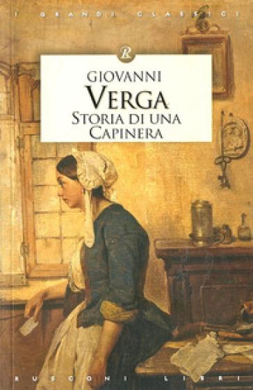 Storia di una capinera giovanni verga libro for Una casa di storia