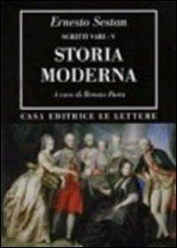 Storia moderna. 5.Scritti vari - Ernesto Sestan | Kritjur.org