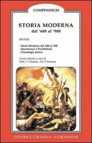 Storia moderna. Dal 1600 al 1900 - Francesco Pomara |