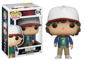 Stranger Things - Pop Funko Vinyl Figure 424 Dustin With Compass 9Cm