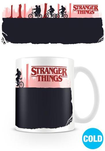 Stranger Things (Upside Down) tazza ceramica cambia colore