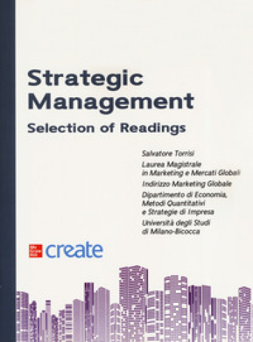 Strategic management. Selection of readings