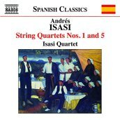 String quartets no.1 & 5