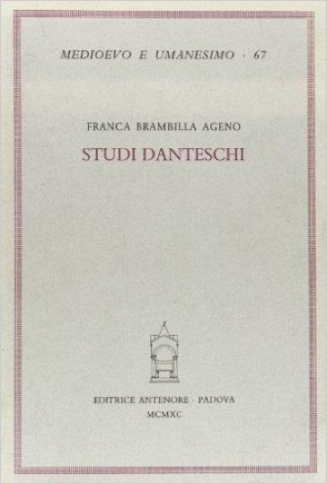 Studi danteschi - Franca Brambilla Ageno | Rochesterscifianimecon.com