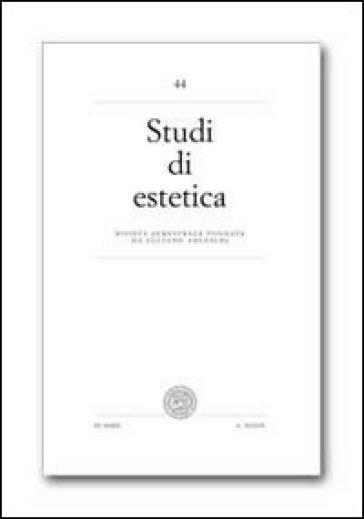 Studi di estetica. 44.
