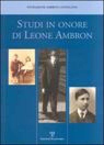 Studi in onore di Leone Ambron - L. Casprini  