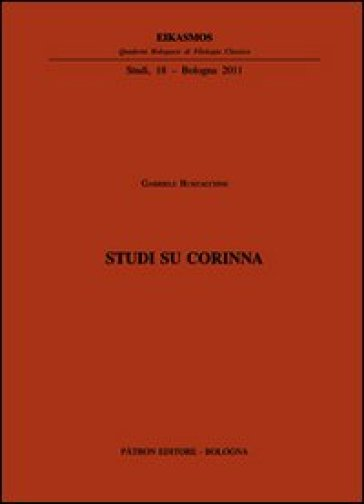 Studi su Corinna - G. Burzacchini |