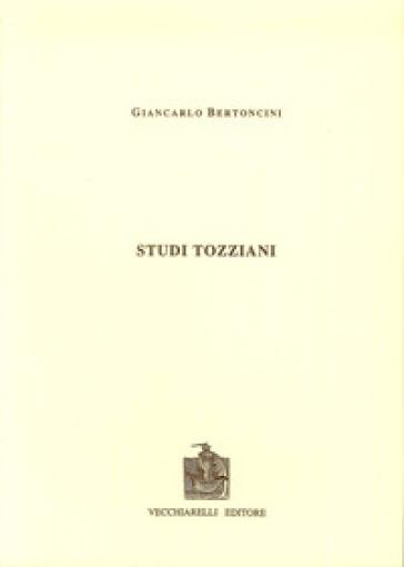 Studi tozziani - Giancarlo Bertoncini  