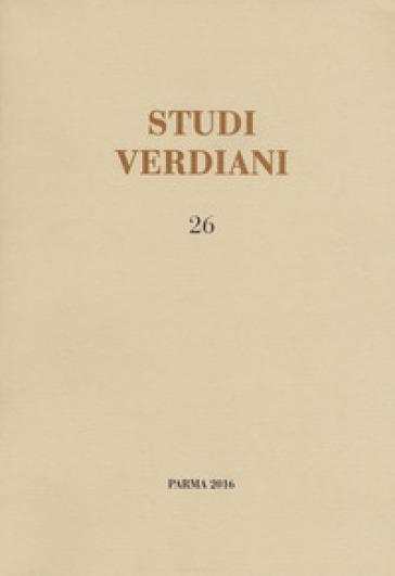 Studi verdiani. 26. - S. Cappelletto  