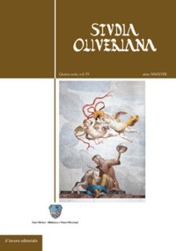Studia Oliveriana. Quarta serie. 4.