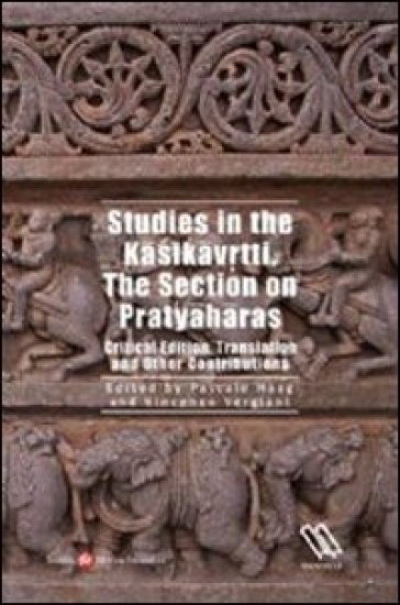 Studies in the Kasikavrtti. The section on Pratyaharass