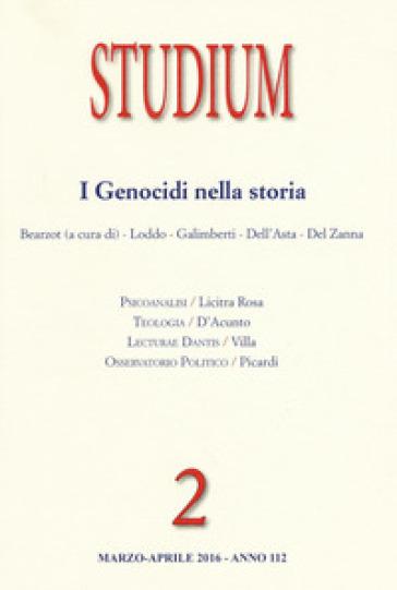 Studium (2016). 2: I genocidi nella storia