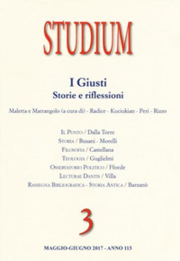 Studium  (2017). 3: I giusti. Storie e riflessioni - S. Maletta  