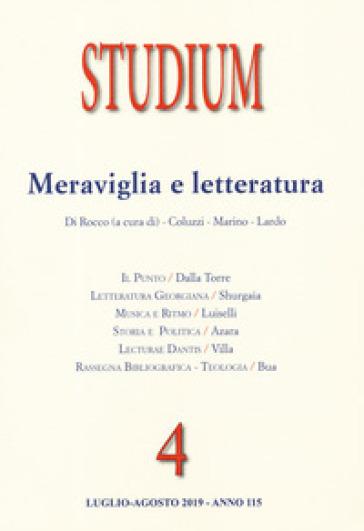 Studium (2019). 4: Meraviglia e letteratura