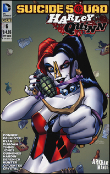 Suicide Squad. Harley Quinn. 6. - Amanda Conner | Rochesterscifianimecon.com