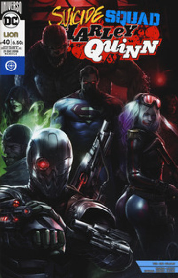 Suicide Squad. Harley Quinn. 40. - M. C. Farinelli  