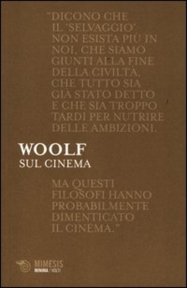 Sul cinema - Virginia Woolf | Kritjur.org