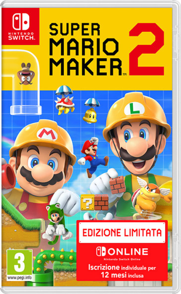 Super Mario Maker 2 Limited Edition