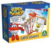 Super Wings Carte Giganti Double-Face