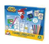Super Wings Set Di Timbri Educativi