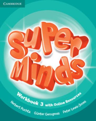 Super minds. Level 3. Workbook. Per la Scuola elementare. Con e-book. Con espansione online - Herbert Puchta   Jonathanterrington.com