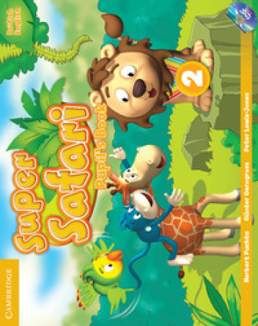 Super safari. Level 2. Pupil's book. Per la Scuola elementare. Con DVD-ROM - Herbert Puchta |