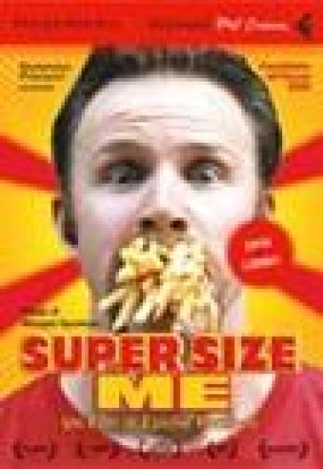 Super size me. DVD. Con libro - Morgan Spurlock  