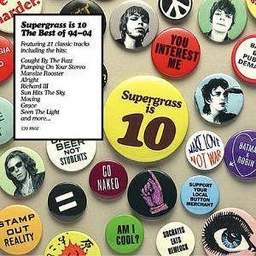 Supergrass is 10 - the best of