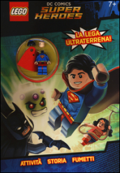 Superman. Lego DC Comics super heroes. Con gadget