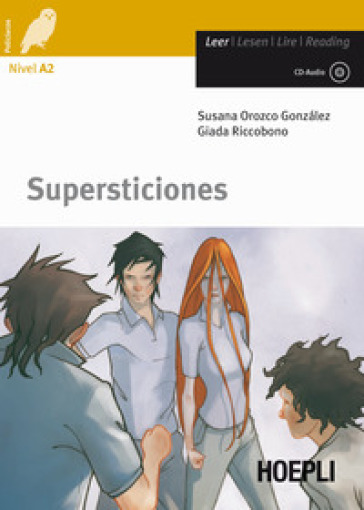 Supersticiones. Con CD Audio