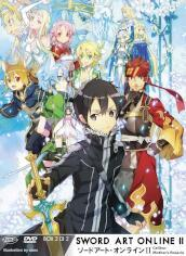Sword Art Online II - Box #02 (Eps 15-24) (Ltd) (2 Dvd+Cd)