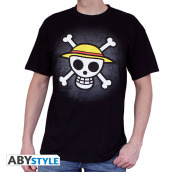 T-Shirt One Piece - Skull Map L