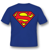 T-Shirt Superman Logo XL