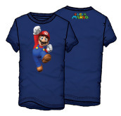 T-Shirt Supermario Jumping Tg.XXL