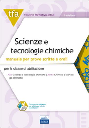 TFA. Scienze e tecnologie chimiche. Manuale teorico. Con software di simulazione