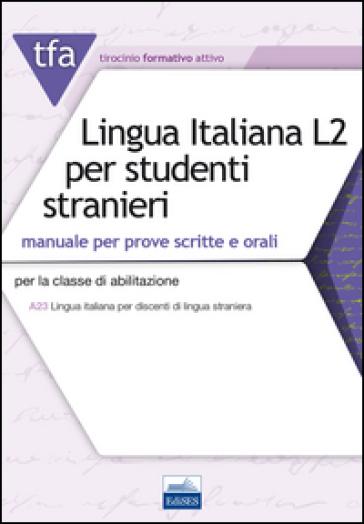 TFA T32 lingua italiana L2 per studenti stranieri - Edoardo Lugarini  