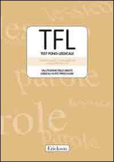 TFL Test Fono-lessicale. Valutazione delle abilità lessicali in età prescolare