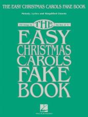 THE EASY CHRISTMAS CAROLS FAKE BOOK C EDITION BOOK