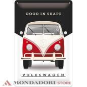 TIN SIGN VW GOOD IN SHAPE