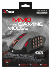 TRUST GXT 166 MMO Gaming Laser Mouse