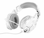 TRUST GXT 322W Cuffie Gaming - White