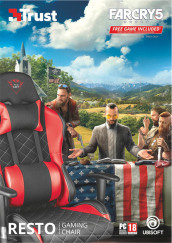 TRUST GXT707R RESTO G.Chair+Far Cry 5 V
