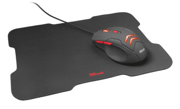 TRUST Ziva Gaming Mouse + Mousepad