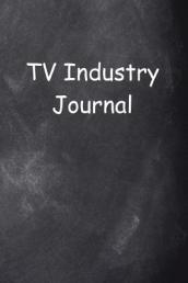TV Industry Journal Chalkboard Design