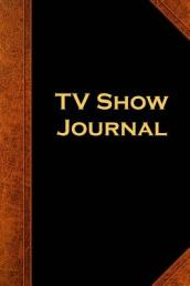 TV Show Journal Vintage Style