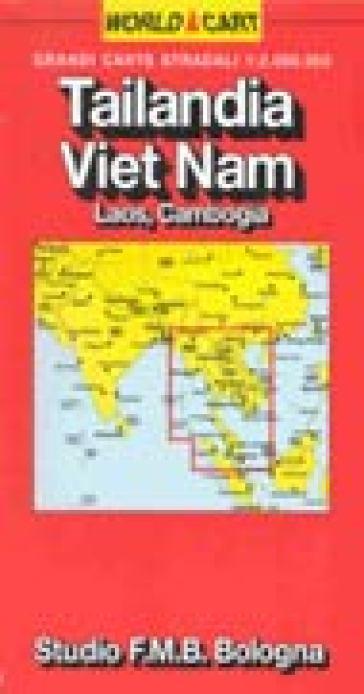 Tailandia. Vietnam. Laos. Cambogia 1:2.000.000 -  pdf epub