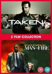 Taken / Man On Fire (2 Dvd) [Edizione: Regno Unito]