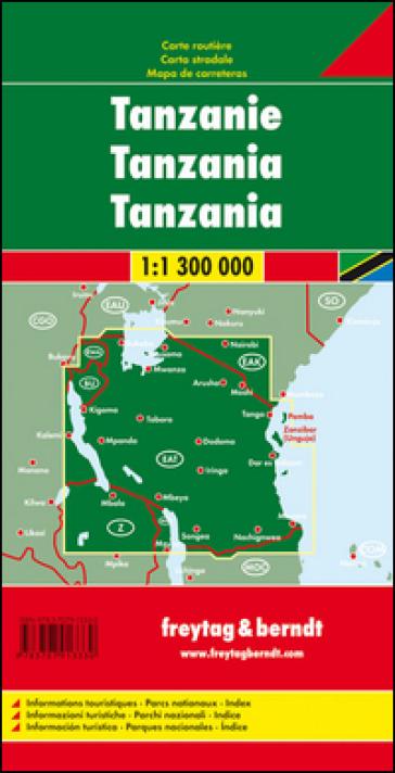 Tanzania 1:1.300.000